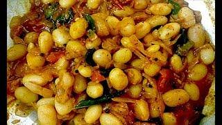 Butter beans gravy in Tamil / Butter beans masala in tamil /  பட்டர் பீன்ஸ் மசாலா