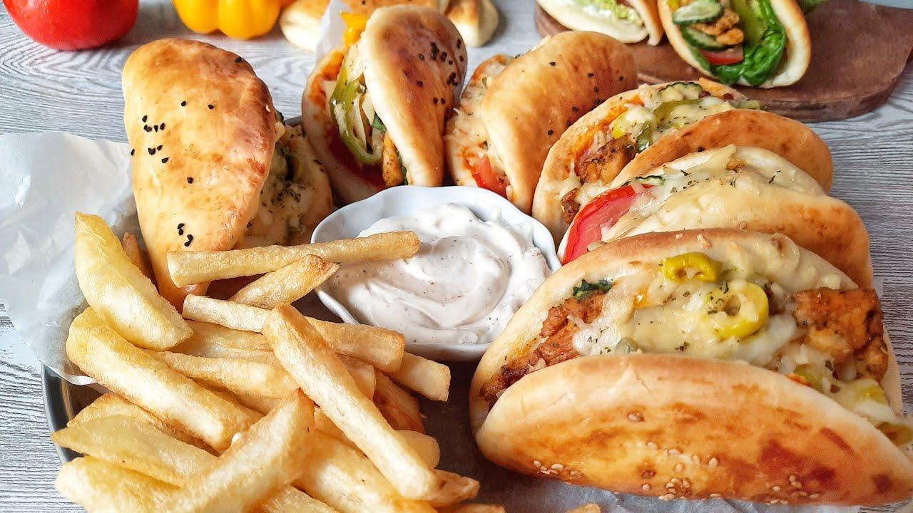 سندويتشات أكثر من رائعة جربها ماتندمش🌮  recette  sandwich