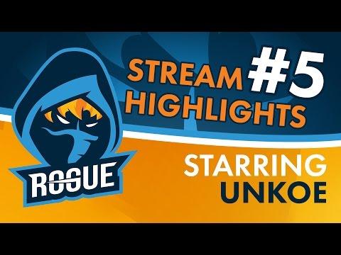 Rogue | Stream Highlights #5 - UNKOE