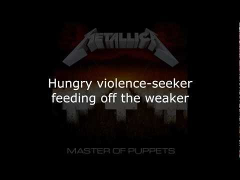 Metallica - Battery Lyrics (HD)
