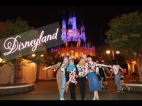 VLOG: Traveling/Vacation with best friends! pt. 2 | Tokyo Disneyland