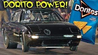 Dorito Power!  Turbo Bigger than the Engine! (13b RX7)