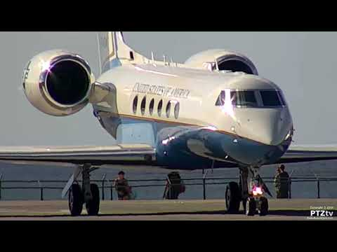 U.S. Government Gulfstream Jet at St. Maarten SXM on 12/21/2