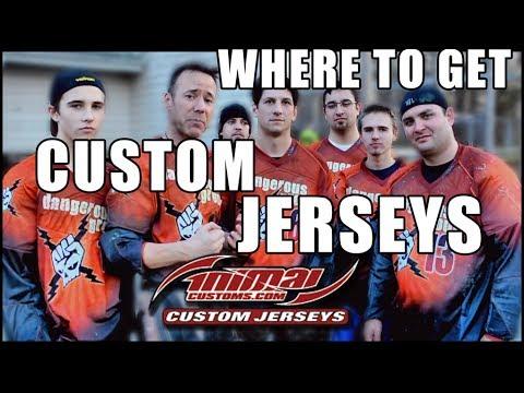 Where to get custom paintball jerseys