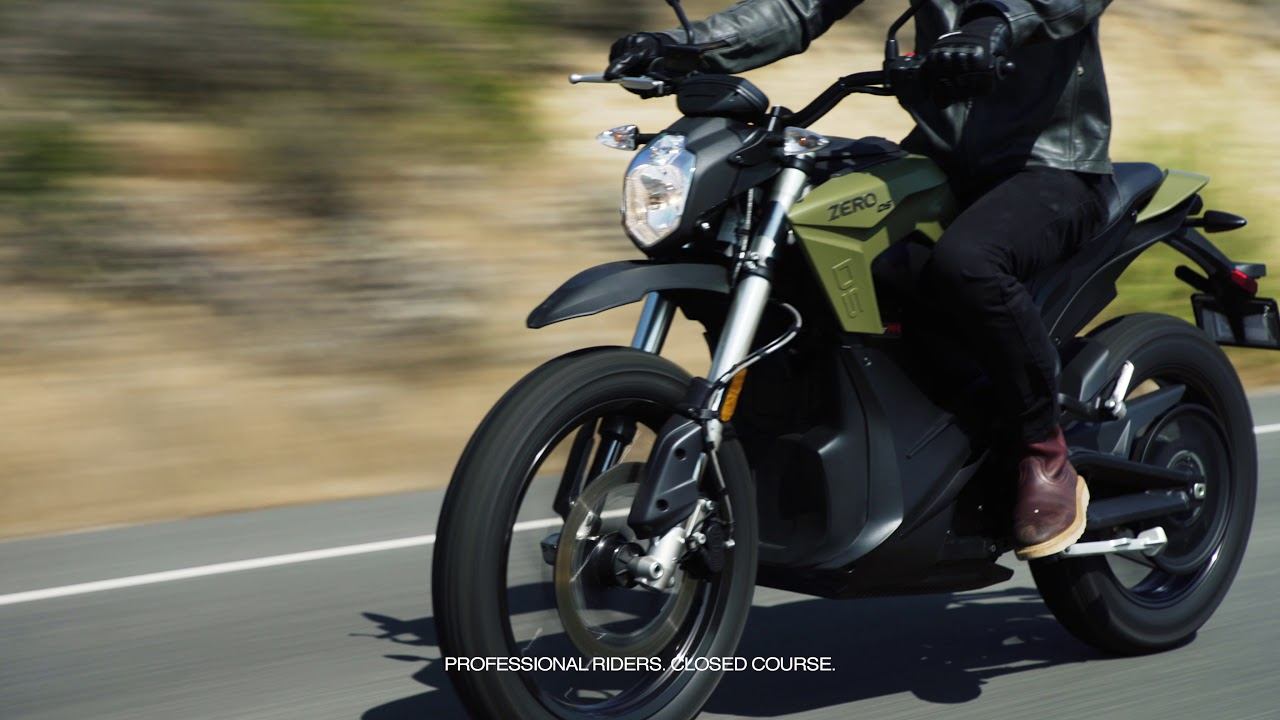 2018 Zero Ds Dsr Electric Dual Sport Motorcycles