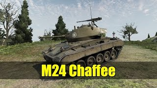 world of tanks m24 chaffee gameplay 10 kills 1 vs 7 with 3 hp