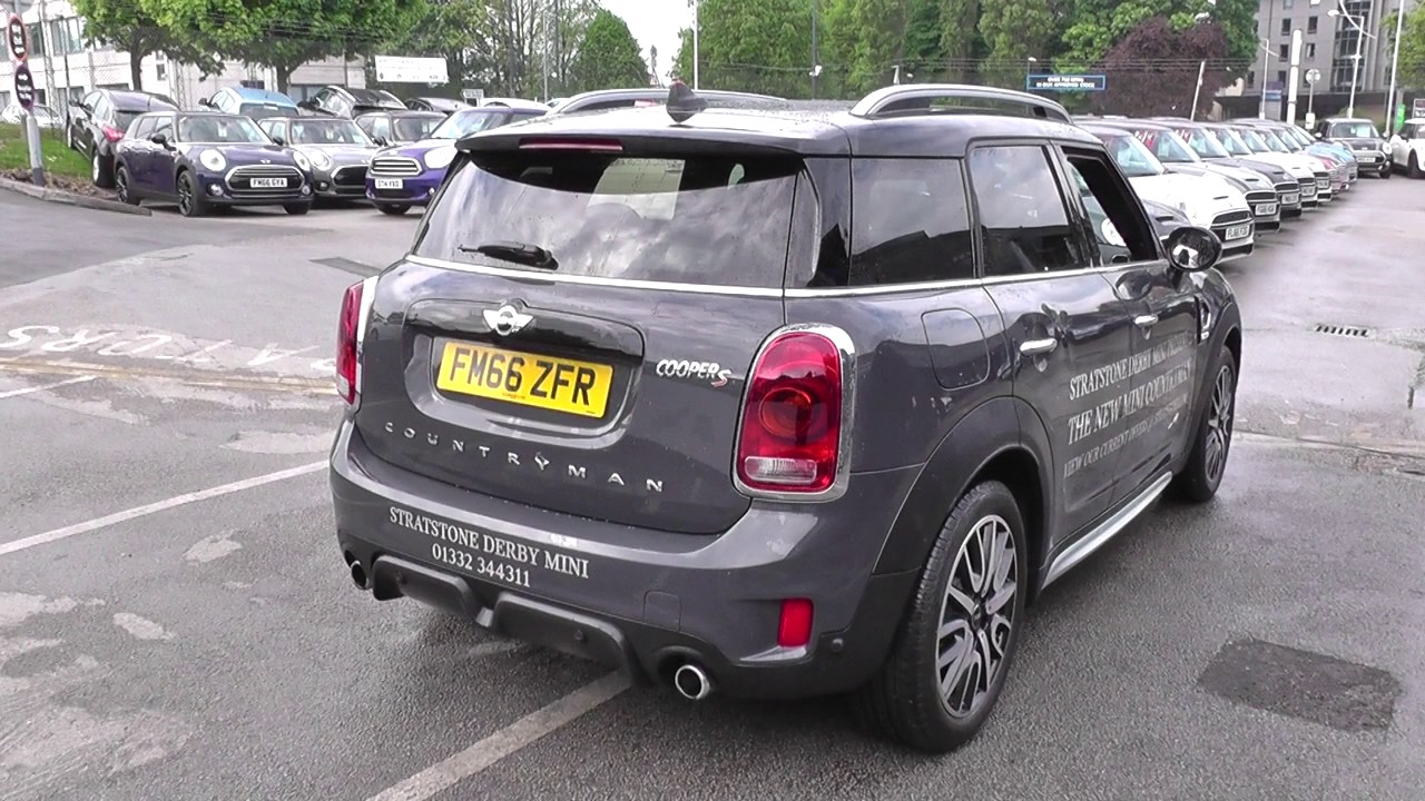 mini countryman 2 0 cooper s all4 5dr auto jcw chili pack u67757 youtube. Black Bedroom Furniture Sets. Home Design Ideas