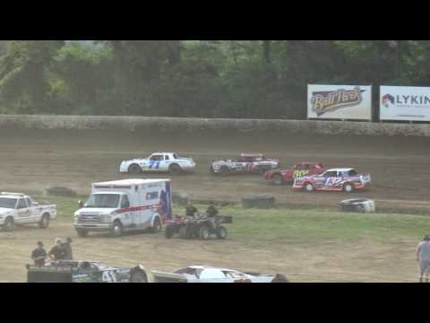 Florence Speedway | 6.17.17 | Phoenix Comfort Systems Pure Stocks | Heat 1