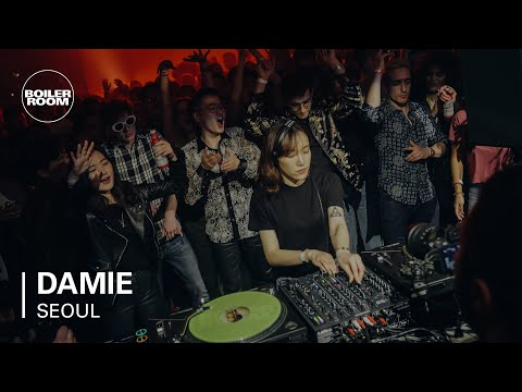 Damie Boiler Room BUDx Seoul DJ Set