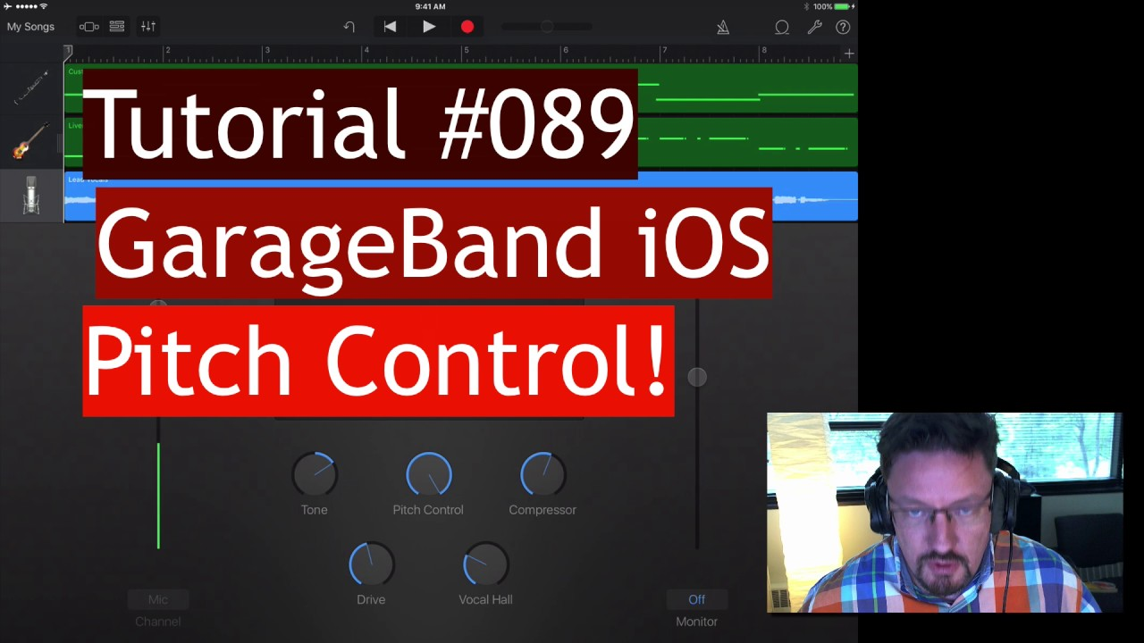 Auto-tune Built into GarageBand iOS | Review #089