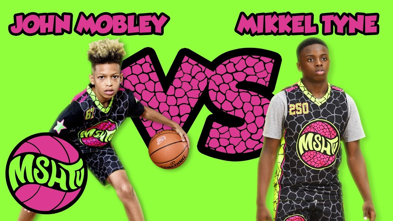 John Mobley vs Mikkel Tyne - TOP PLAYERS in the Class of 2024 at the 2018  MSHTV Camp