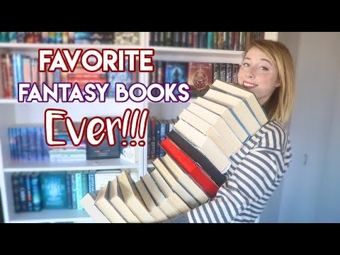 MY FAVORITE FANTASY BOOKS!!