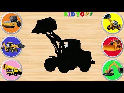 Construction Vehicles Puzzle