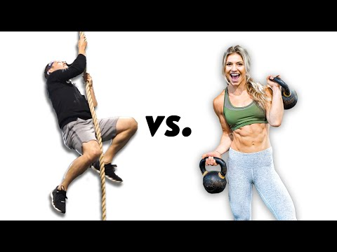 Olympian vs. Instagram Model Workout Challenge