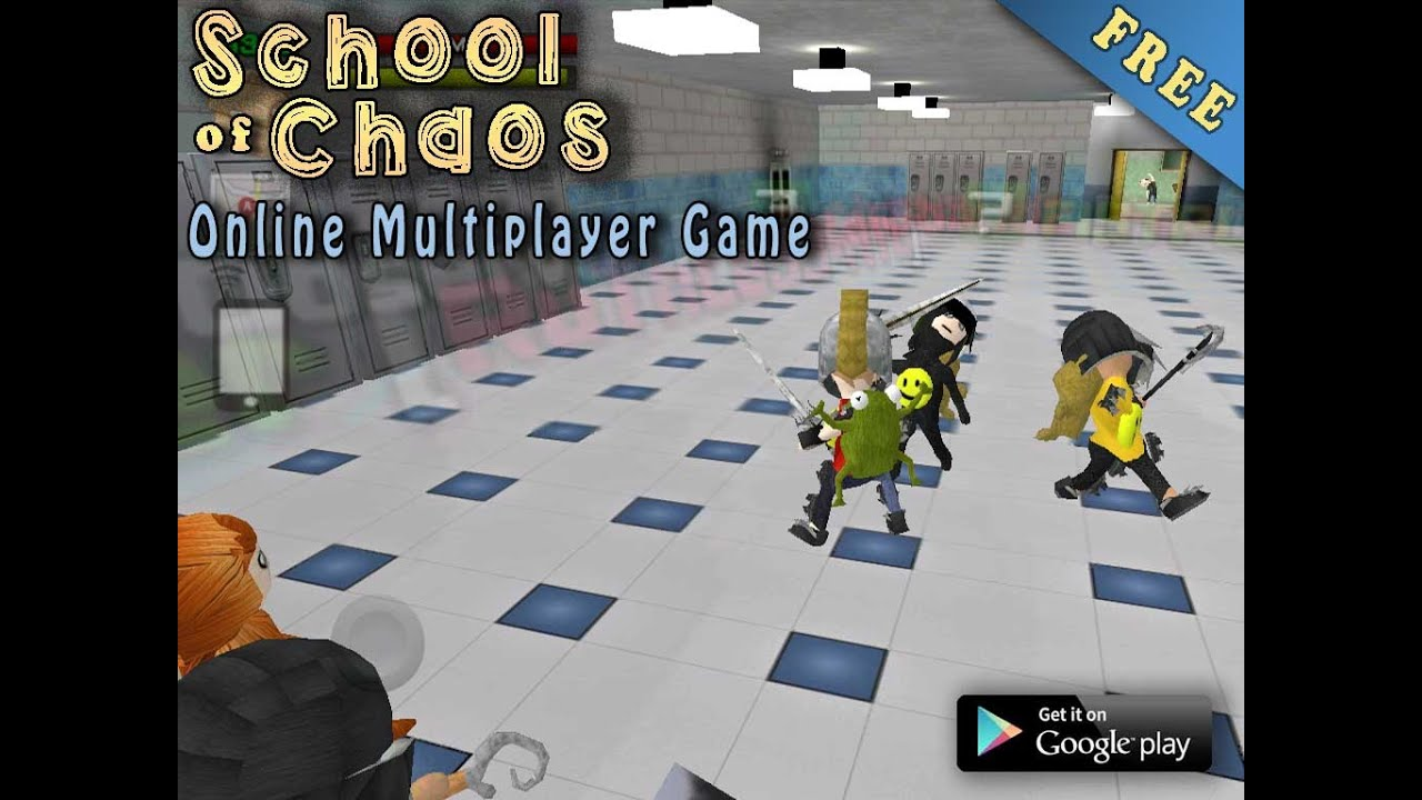School of Chaos Online MMORPG   YouTube School of Chaos Online MMORPG  VNL Entertainment Games