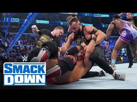 HINDI - Undisputed ERA ne crash kiya Tag Team Title Match: SmackDown, Nov. 16, 2019