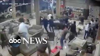 Hundreds dead in earthquake near Iran-Iraq border