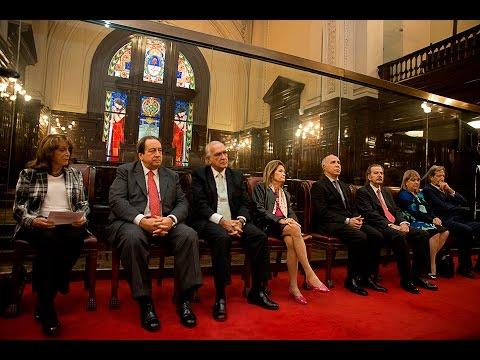 La Corte participó de un acto en homenaje al fiscal Julio César Strassera