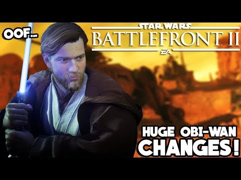 Obi-Wan Kenobi is Already Getting Some BIG Changes... Huh? Star Wars Battlefront 2