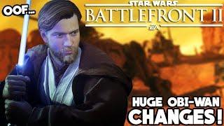 Obi-Wan Kenobi is Already Getting Some BIG Changes... Huh? Star Wars Battlefront 2