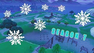 IT'S SNOWING ON FORTNITE SPAWN ISLAND - Season 7 2nd Teaser REVEALED! ICEBERG GETTING CLOSE!