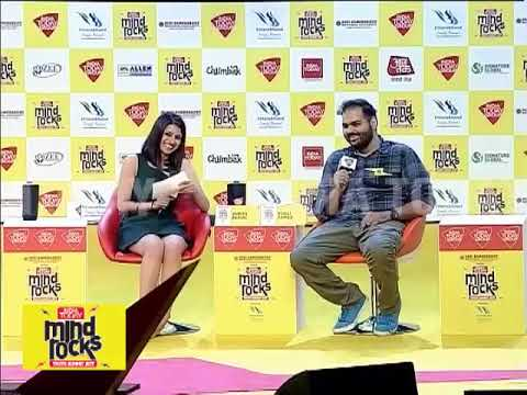 Learning To Laugh At Ourselves | Kunal Kamra At India Today Mind Rocks 2017