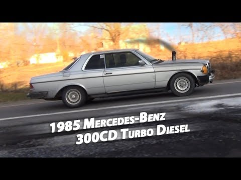 WORST/BEST Mercedes-Benz Ever! 1985 300CD Turbo Diesel