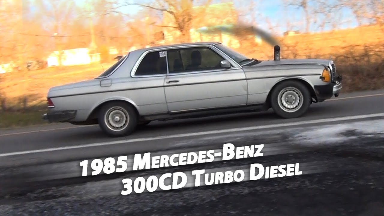 WORST/BEST Mercedes-Benz Ever! 1985 300CD Turbo Diesel