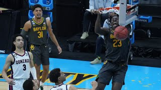 Best dunks from Baylor's dominating win over Gonzaga