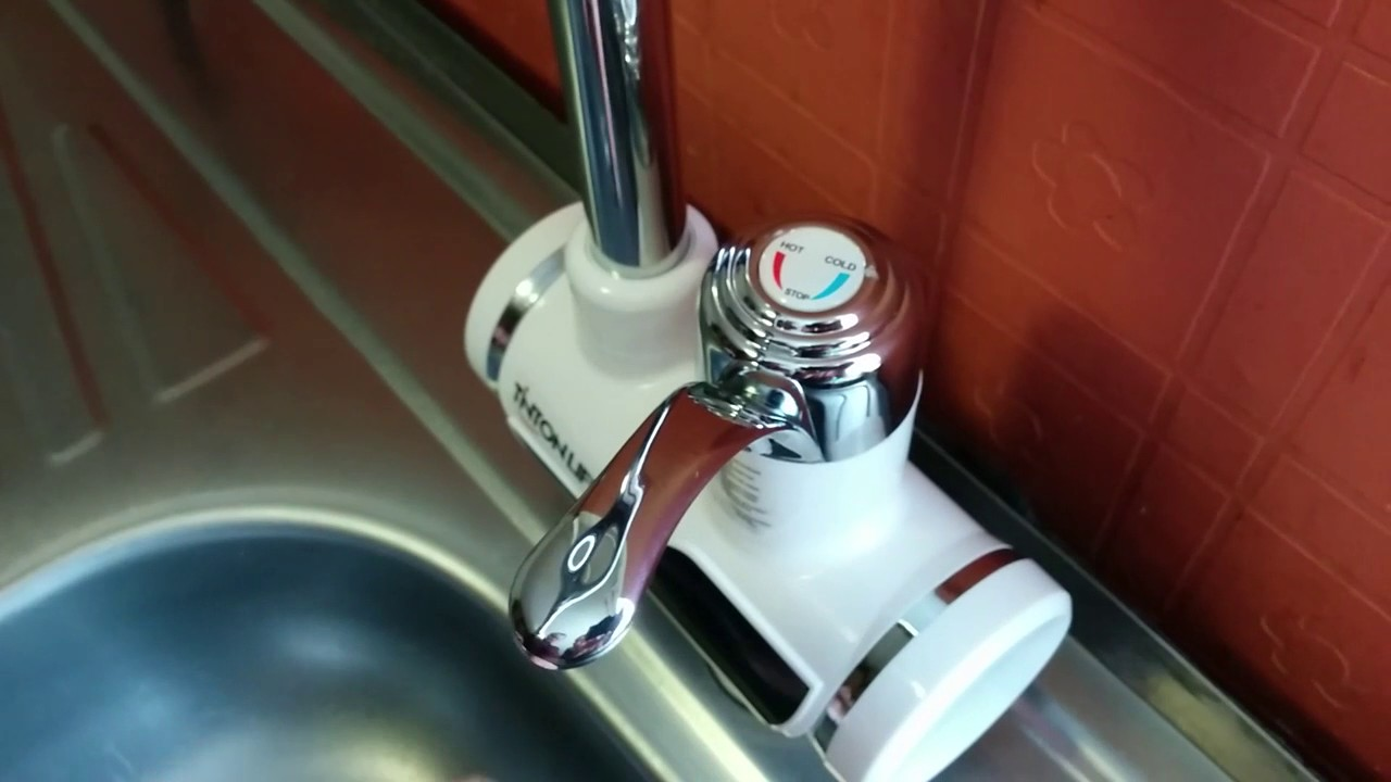 Установка кран душ