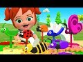 Little Baby Girl Fun Play Learning Colors For Children With Color Bugs Wooden Toy Set 3D Kids Edu mp3