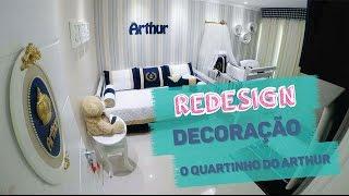Decoração de quarto de bebê menino com o tema de Príncipe Urso - Redesign | DAISY ANDRADE