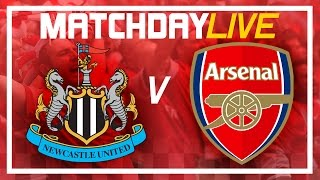 Video Gol Pertandingan Newcastle United vs Arsenal