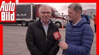 Daimler Trucks (CES 2019) Interview zur LKW-Zukunft