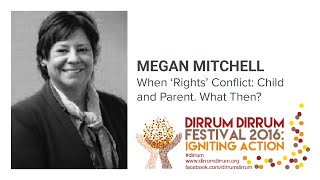 Megan Mitchell | When 'Rights' Conflict | #dirrumfestivalCBR 2016