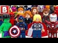 Every Lego Avengers Minifigure Ever Made Ultimate Marvel Collection mp3