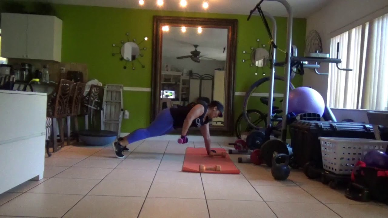 Fit booty camp home gym plank fitness workout routine youtube