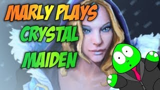 Dota 2 Episode 47 Marly Plays Crystal Maiden Every Cm Game Is A Carry Cm Game