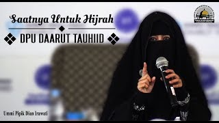 Video Saatnya Untuk Hijrah (DPU DT) - Ummi Pipik Dian Irawati download MP3, 3GP, MP4, WEBM, AVI, FLV Juni 2018
