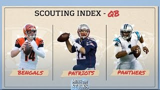 Best Offense: Patriots, Bengals or Panthers? | Move the Sticks | NFL
