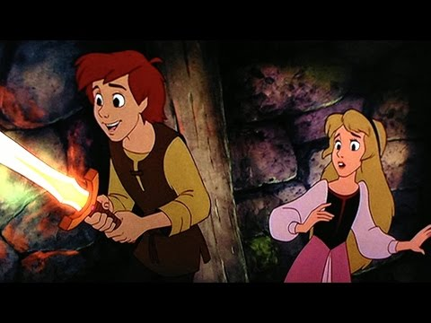 The Black Cauldron Movie 1985 - Grant Bardsley, Freddie Jones, Susan Sheridan
