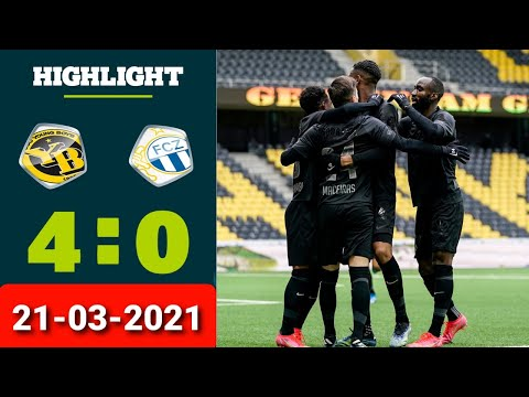 Young Boys Zurich Goals And Highlights