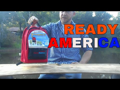 READY AMERICA KIT, SURVIVAL KIT, EMERGENCY BAG FOR TWO