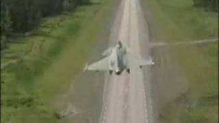 JAS 39 Gripen Take off and Landing