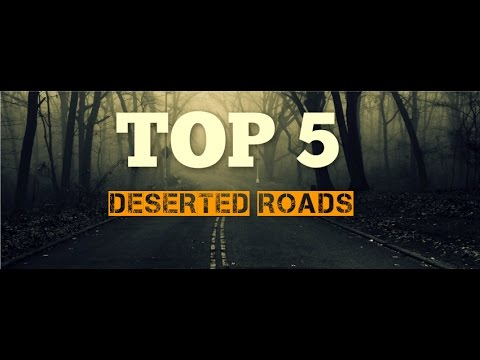 Top 5 Deserted Roads - Connecticut
