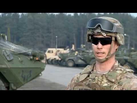 2nd Cavalry Regiment Returns to Vilseck, Germany
