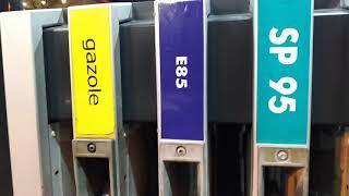 E85 petrol refuelling mopar France