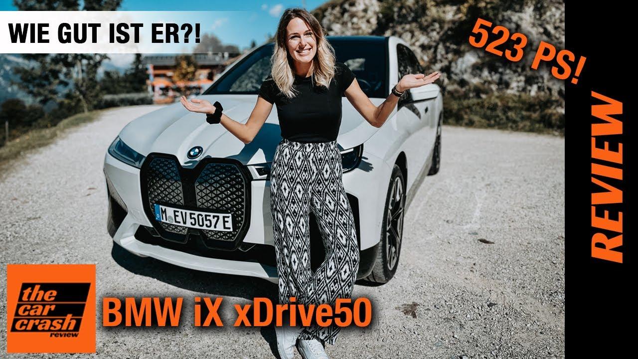 BMW iX xDrive50 im Test (2021) Wie GUT ist er wirklich?! 🤷🏼♀️ Fahrbericht | Review | Sport | Preis