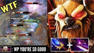 EPIC!! Carry Earthshaker Team Wipe Echo Slam vs PRO Invoker Crazy C...
