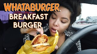 WHATABURGER Breakfast Burger